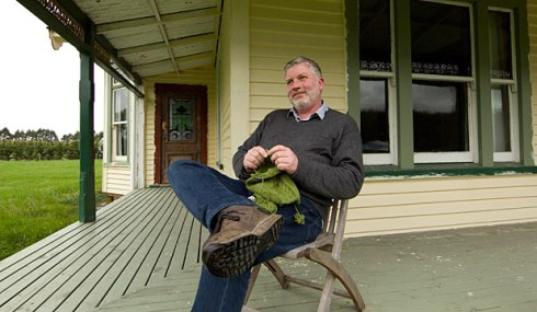 Me on the verandah